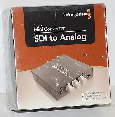*NEW* Blackmagic Design SDI to Analog BMD-CONVMASA