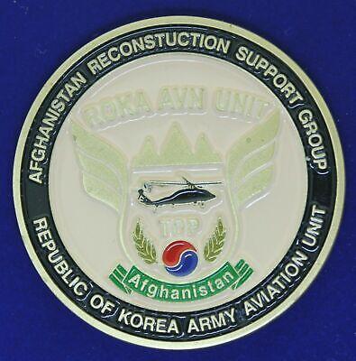 ROKA Korea Army Aviation Unit Reconstruction Support Group Challenge Coin (Roka Group)