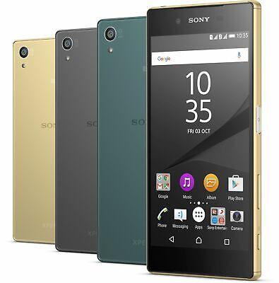 Neu *Ungeöffnet*  Sony Xperia Z5 Dual E6683 23MPix Smartphone/Graphite Black/32G