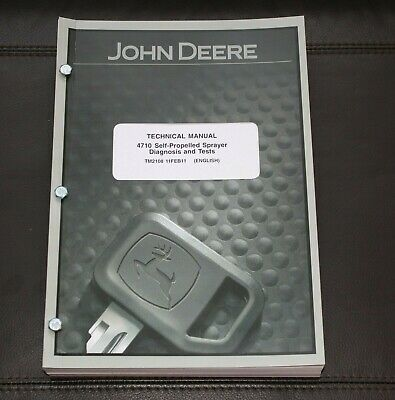 John Deere 4710 Diagnosis Test Service Manual Tm2108