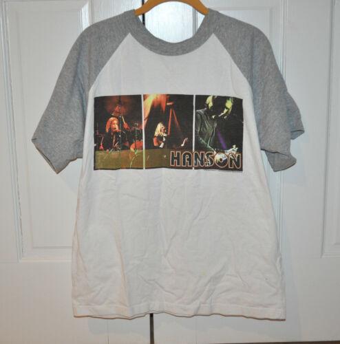 VERY RARE OFFICIAL Hanson Albertane Tour Baseball Shirt! Size Medium!