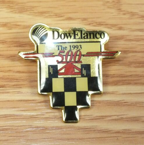 Dow Elanco The 1993 500 Vintage Enamel Collectible Pin / Hat Lapel **READ**