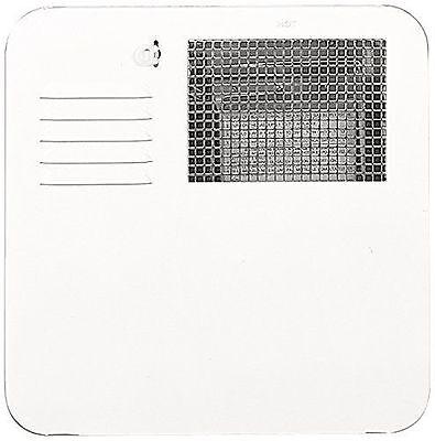 RV Suburban Polar White 4 & 6 Gallon Water Heater Access Door 6255APW