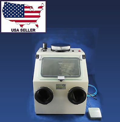 Dental Lab Sandblasting Machine Box 026-1 Lab Sandblaster 220v Dentq