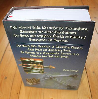 Buch über Rechenmaschinen, Rechenschieber, Planimeter, etc