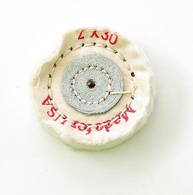 5x Muslin Buff Polishing Wheel 2 X 30 Ply Dental Lab Jewelry Hobby 451-0230