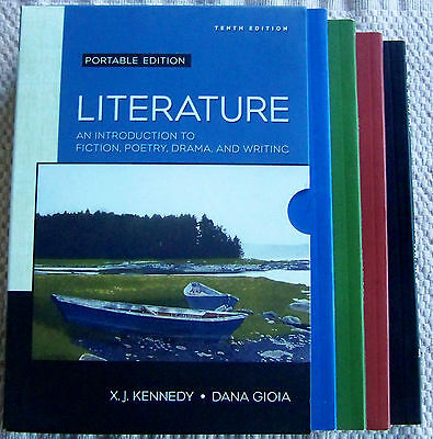 """X.J. KENNEDY """"LITERATURE"""" INTRODUCTION TO FICTION-POETRY-DRAMA & WRITING. (0387)"""