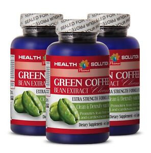 Boost Metabolism - GREEN COFFEE EXTRACT CLEANSE 400MG 3B - Green Slimming Coffee