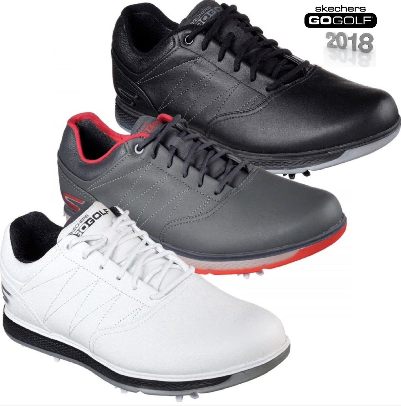 WATERPROOF SPIKE LEATHER GOLF SHOES