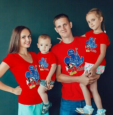 Matching Disney Shirts For Family (Disney Family Vacation 2020 Family vacation Matching shirts for 2020 Disney)