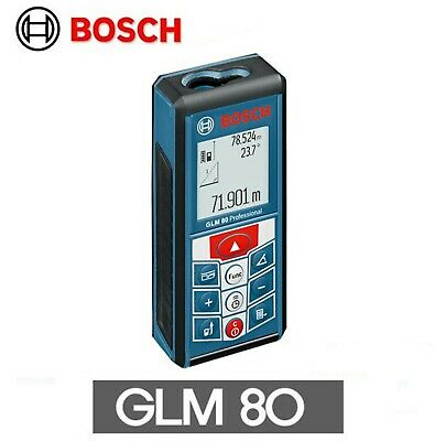 Bosch Glm 80 Laser Distance And Angle Measure Meter - Equipment Industria