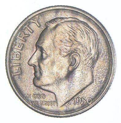 Unc BU MS 1950-S - US Roosevelt 90 Silver Dime Coin Collection Set Break 580 - $26.76