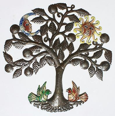 Tree of Life with Sun Metal Art Home Accessories Online Stores Fair Trade 24
