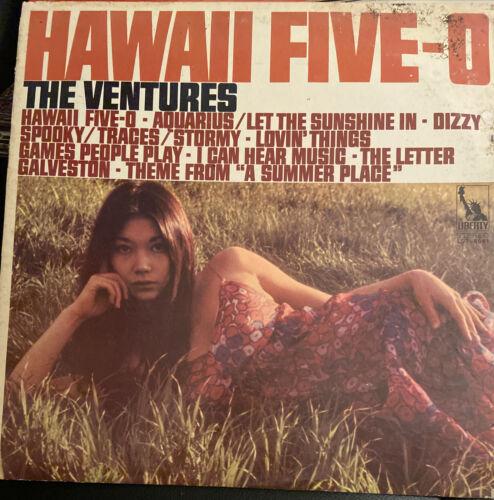 THE VENTURES HAWAII FIVE-O LP 1969 ORIGINAL PRESS NICE CONDITION  - $5.00