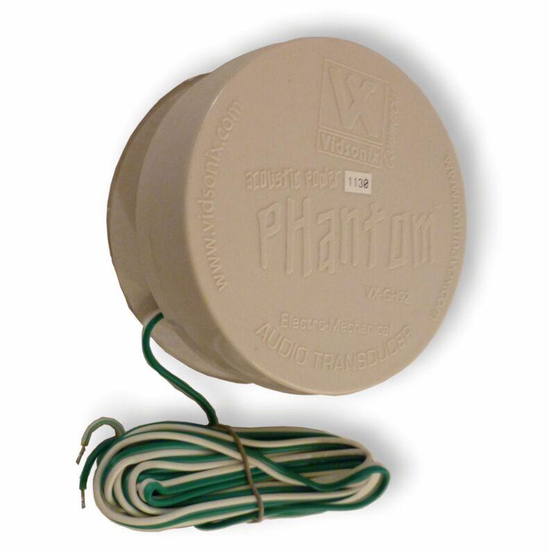"2X Vidsonix Phantom 4.25"" inch Tactile Audio Transducer Full Range NEW ( PAIR )"