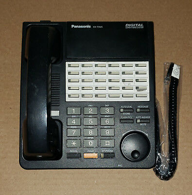 PANASONIC DIGITAL SUPER HYBRID KX-T7425B 24 BUTTON SPEAKER PHONE   for sale  Shipping to South Africa