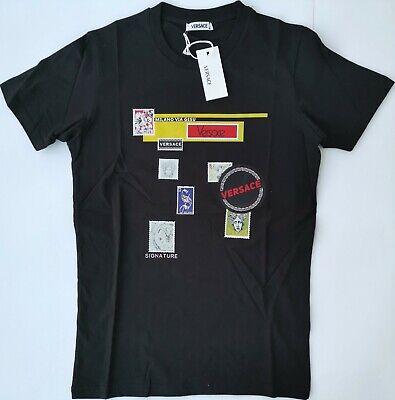 New VERSACE Men's T-Shirt All Size S M L XL 2XL Italy Gianni Medusa Head Baroque