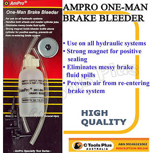 ONE-MAN-BRAKE-BLEEDER-HYDRAULIC-CLUTCH-FLUID-BLEEDING-CYLINDER-PAD-KIT