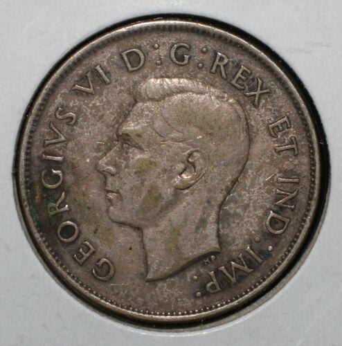 1941 Canada 50c Silver Half Dollar - 03754