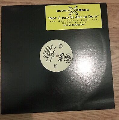 Double XX Posse - Not Gonna Be Able To Do It / The Pure Thing Promo Copy 1992