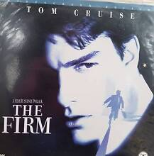 THE FIRM (Laser disc movie) St Marys Mitcham Area Preview