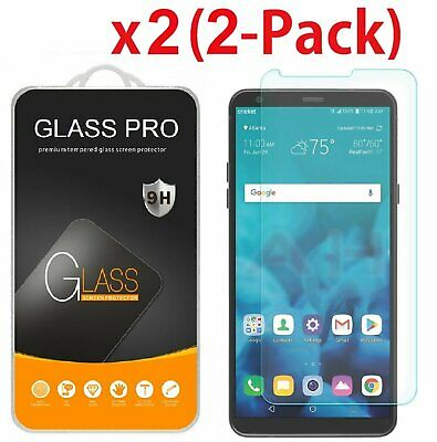 2-Pack For LG Stylo 4 (2018) Tempered Glass Screen Protector Cell Phone Accessories