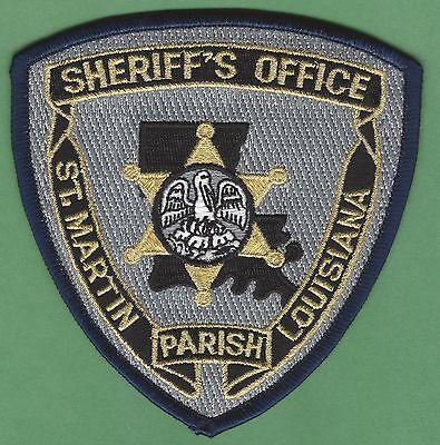 ST. MARTIN PARISH SHERIFF LOUISIANA POLICE PATCH