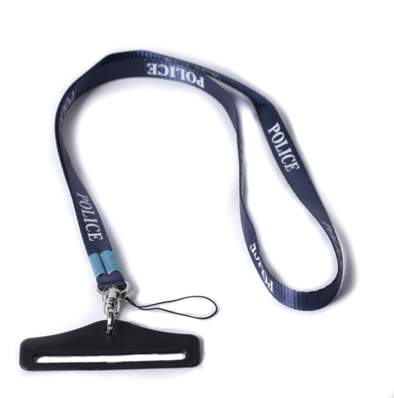 POLICE COP LAW ENFORCEMENT OFFICER LANYARD SECURITY KEY CARD ID HOLDER -35786