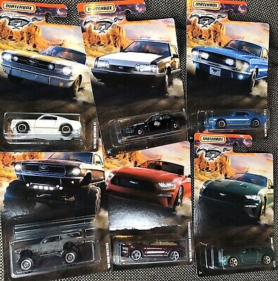 Matchbox 2020 Mustang series Set Of 6 Exclusive