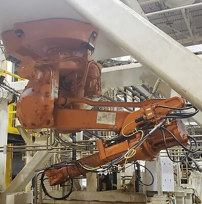 Abb Irb2400-m98a Robot Manipulator Arm W Controller And Teach Pendant