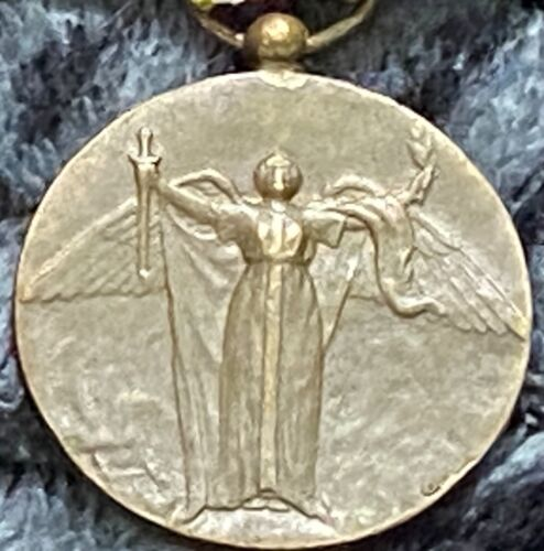 👽 CUBA CUBAN ORIGINAL OFFICIAL Type-1 WWI Victory Medal 7000 Minted Produced👽