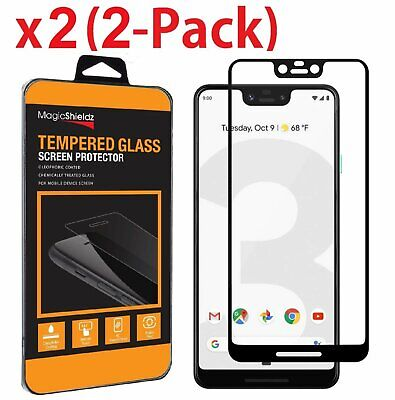2 Pack MagicShield Full Cover Tempered Glass Screen Protector For LG G7 ThinQ Cell Phone Accessories