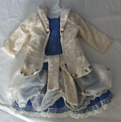 Hand Made doll Dress & Jacket for 20-22