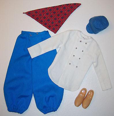 Vintage Puppe Reise Kostüm Ken in 1964 #0777# 777 Hut Schuhe (Ken Barbie Kostüm)