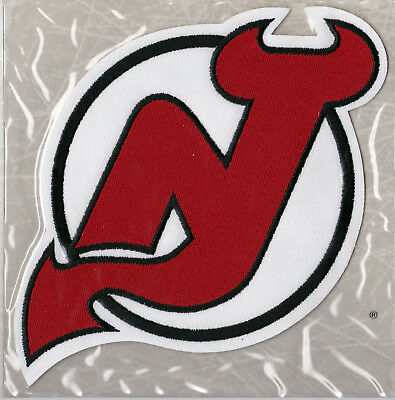 1995 NEW JERSEY DEVILS OFFICIAL NHL HOCKEY TEAM PATCH WILLABEE WARD