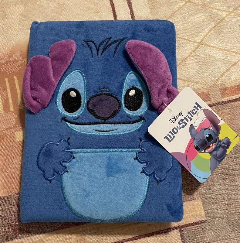 NEW WITH TAG! Disney Lilo and Stitch Fuzzy Stitch Journal!
