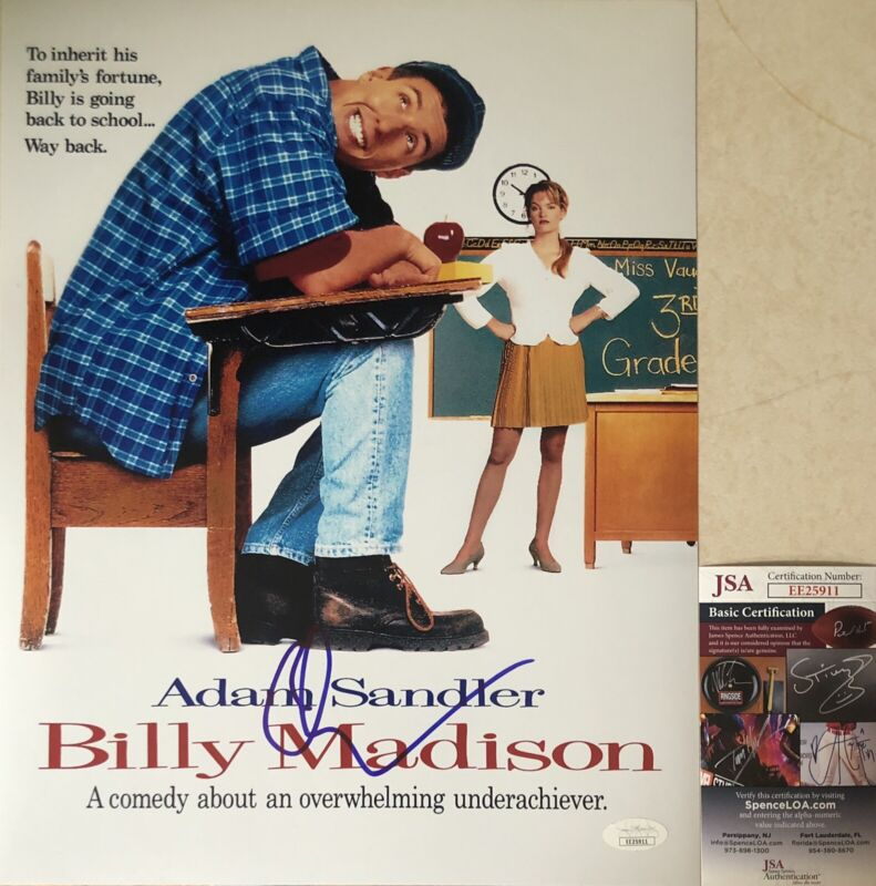 Adam Sandler Signed Autographed Billy Madison 11x14 Photo JSA COA
