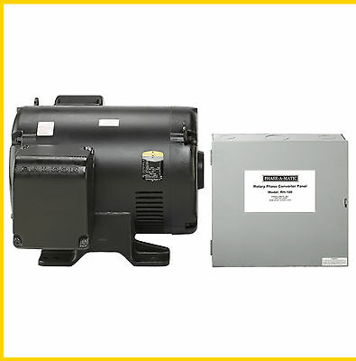 Phase-a-matic Rh-100 460v 100hp Rotary Converter- New