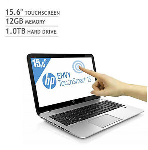 HP ENVY Touchsmart 15, AMD A10 Quad-Core, 3.50GHz Turbo,12GB,1TB,Beats HD Laptop