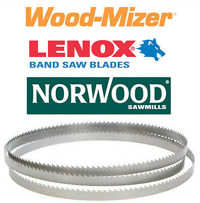 Qty 10 - Bandsaw Blades 144 X 1-14 X .042 X 78t - Wood-mizer Lt10 Norwood