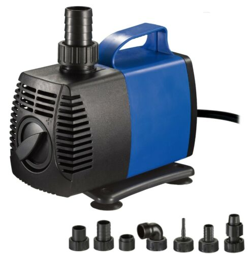 1200 GPH Submersible Water Pump Fish Tank Pond Fountain Pool Aquarium Hydroponic