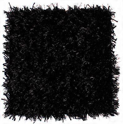 Infinity Teppich Fließe schwarz 40x40 cm (Infinity-teppich)