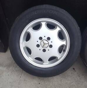 SECONDHAND GENUINE MERCEDES C-CLASS W202/203 WHEEL SET Doncaster East Manningham Area Preview