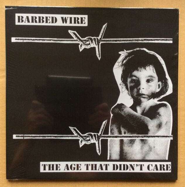 BARBED WIRE - THE AGE THAT DIDN'T CARE (BRAND NEW & SEALED VINYL LP) - RRS36