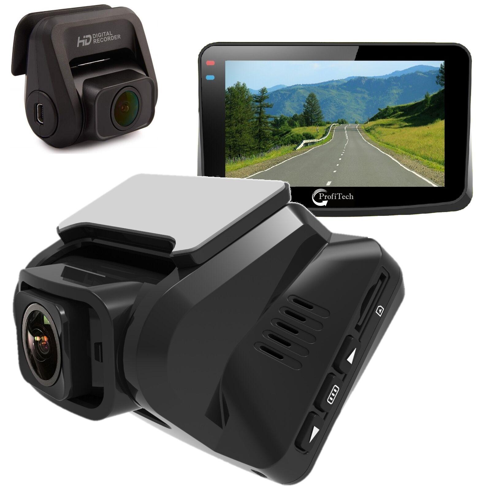 "Dash Cam Recorder 3"" for Cars WiFi Dual Lens Full HD 1080P"