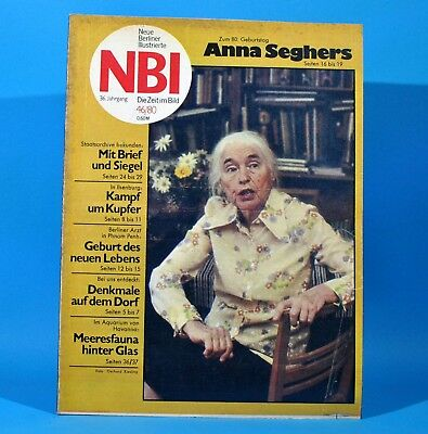 DDR NBI 46 1980 Holger Biege Kampuchea Anna Seghers Ilsenburg Mecklenburg L