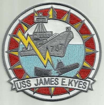 USS JAMES E. KYES DD-787 GEARING CLASS DESTROYER SHIP MILITARY PATCH