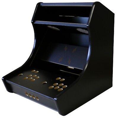 Bartop Arcade Kit Bundle, Quick Assembly Cam Lock, Plexi Glass,2 Player USA