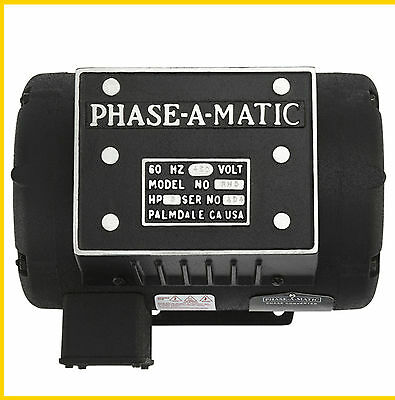 Phase-a-matic Rh-5 460v 5hp Rotary Converter- New