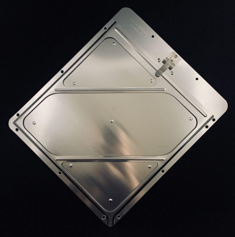 🌟Pelican Aluminum DOT HazMat Placard Holder For Swing Door Van & Tank Trailers
